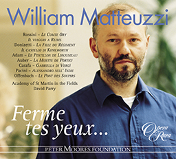 William Matteuzzi: Ferme tes yeux