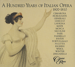 100 Years of Italian Opera Vol 1