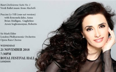 Opera Rara and the London Philharmonic Orchestra present Puccini's Le Villi in concert