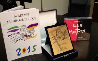 Académie Du Disque Lyrique Award