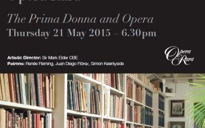 The Prima Donna and Opera
