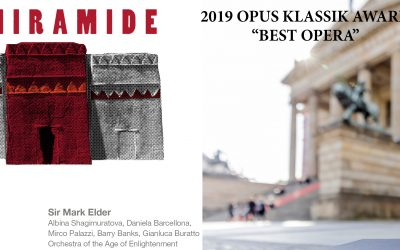 SEMIRAMIDE won the 2019 OPUS KLASSIK Award
