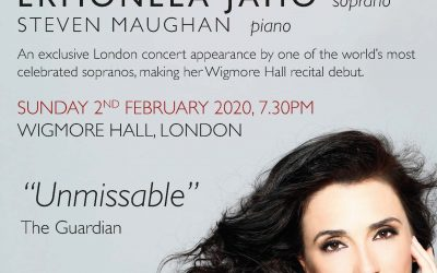 Last few tickets for Ermonela Jaho's recital at the Wigmore Hall
